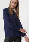 Ciemnoniebieska Koszula Darlene