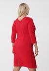Czerwona Sukienka Etna