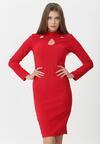 Czerwona Sukienka Dacey