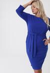 Niebieska Sukienka Gypsy