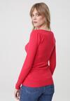 Czerwony Sweter Sinéad