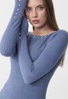 Niebieski Sweter Sinéad