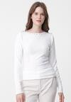 Biały Sweter Sinéad
