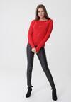 Czerwony Sweter Tabitha