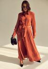 Łososiowa Sukienka Solfatara