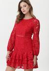 Czerwona Sukienka Powder