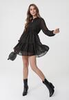 Czarna Sukienka Biscotti