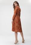 Brązowa Sukienka Montgomery