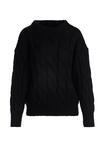 Czarny Sweter Buttermilk