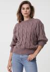 Jasnobrązowy Sweter Buttermilk