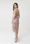 Ciemnoróżowa Sukienka Taffy