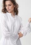 Biała Sukienka Worcester