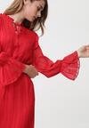 Czerwona Sukienka Worcester