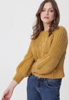 Musztardowy Sweter Pretty Cruel