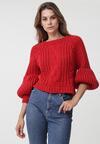 Czerwony Sweter Pretty Cruel