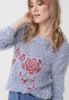 Niebieski Sweter Carrollton