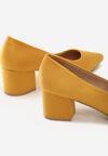 Żółte Czółenka Degrade