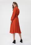 Pomarańczowa Sukienka Hayes