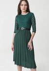 Zielona Sukienka Rambouillet