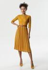 Żółta Sukienka Rambouillet