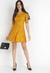 Żółta Sukienka Olinda