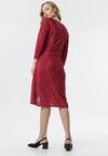 Czerwona Sukienka Oyonnax