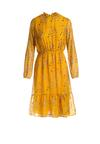 Żółta Sukienka Frontignan