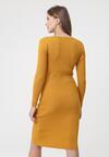Żółta Sukienka Atibaia