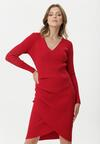 Czerwona Sukienka Atibaia