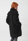 Czarny Płaszcz Grande