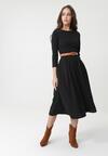 Czarna Sukienka Portobello