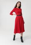 Czerwona Sukienka Portobello
