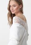 Biały Sweter Calverley