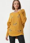 Żółty Sweter Rosemoor