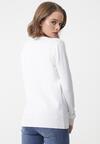 Biały Sweter Sheridan
