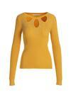 Żółty Sweter Sleepy Girl