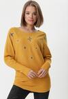 Żółty Sweter Vittum