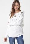 Biały Sweter Vittum