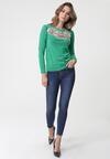 Zielony Sweter Alfords