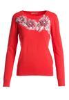 Czerwony Sweter Alfords