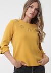 Żółty Sweter Ambarvalle