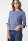Niebieski Sweter Ambarvalle