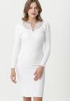 Biała Sukienka Longueville