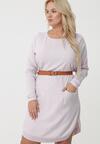 Beżowa Sukienka Lakemba
