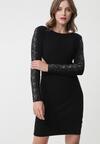 Czarna Sukienka Maianbar