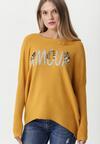 Żółty Sweter Malabar