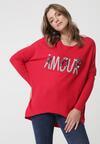 Czerwony Sweter Malabar