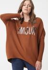 Brązowy Sweter Malabar