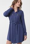 Ciemnoniebieska Sukienka Turrella