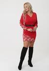 Czerwona Sukienka Watsonia